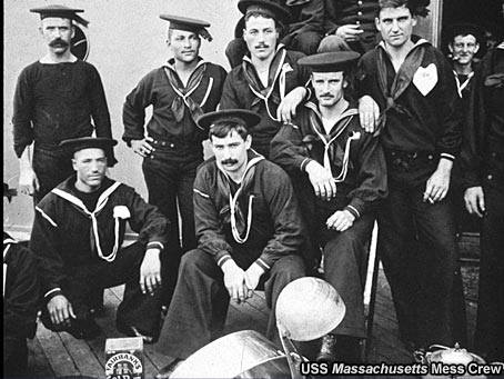 USS Massachusetts Mess Crew