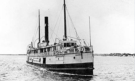 SS Tarpon stranded on a reef